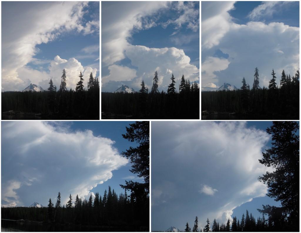 A Thunderhead forming