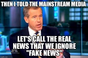 Fake News Meme