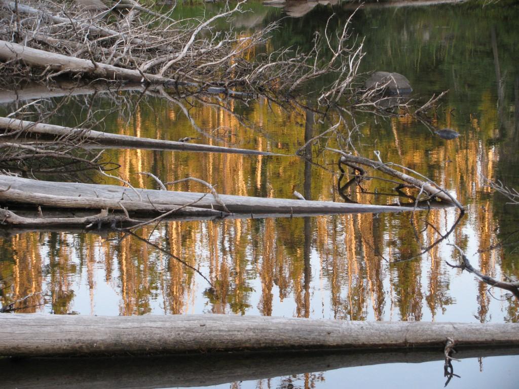 Sunset at Head Lake