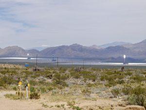 Ivanpah Solar Electric Generating System, Mojave Desert, California