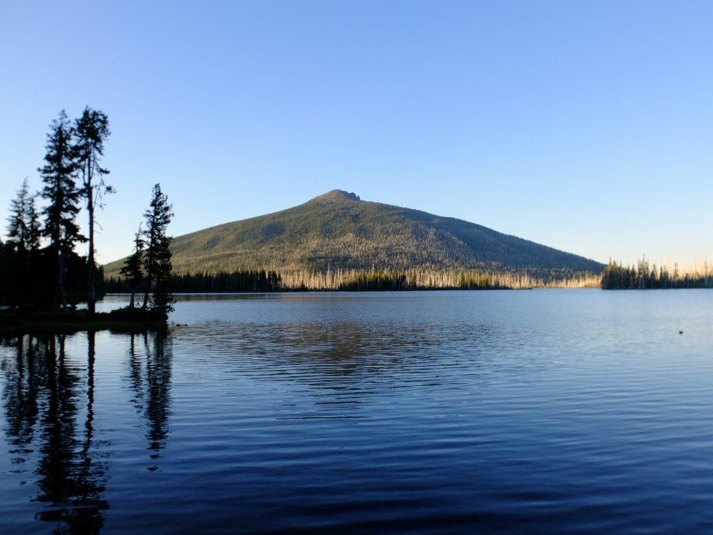 Olallie Butte, observed at Monon Lake
