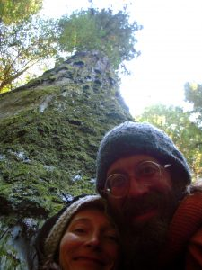 Visiting the Redwoods with a friend in 2012