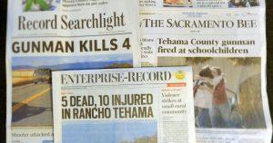 Regional newspapers, Wednesday, Nov. 15th