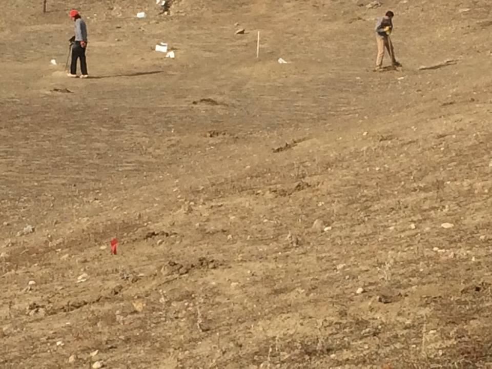 The extermination of the prairie dog colony at Longmont, Colorado (Photo courtesy Prairie Protection Colorado)