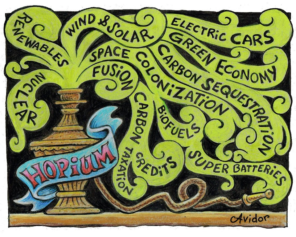 Hopium pipe