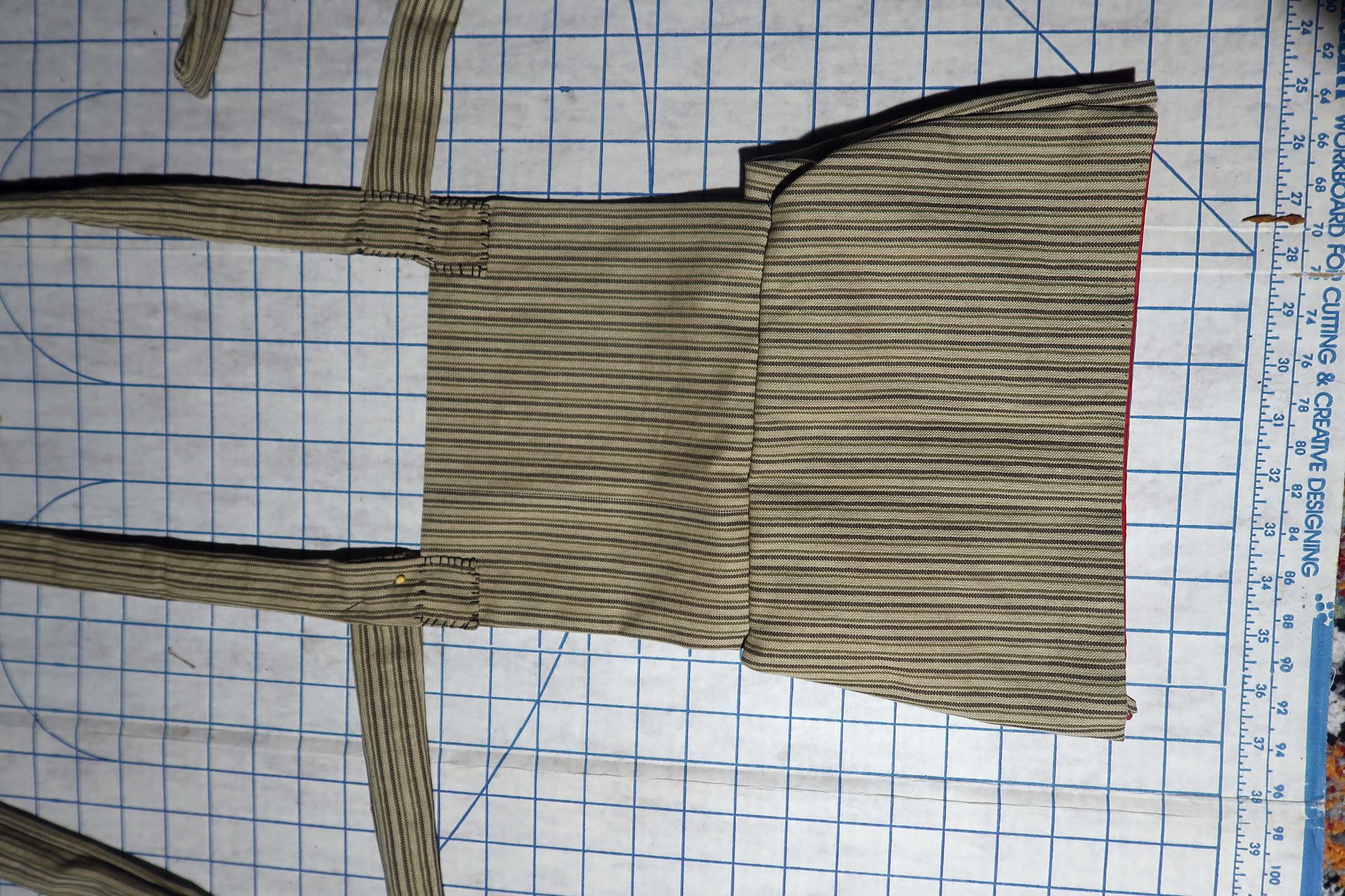 Attaching waist straps
